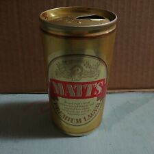 Vintage Matt's Premium Lager Empty Beer Can