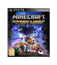 Sony Play Station Minecraft Story Mode PS3 garantizado