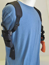 "Shoulder Holster with Ammo Pouch for TAURUS HUNTER & TRACKER Models 4"" Barrel"