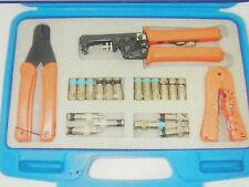 Compression Connector Tool Kit DL-807K  RG59, 6F, RCA. BNC   #17251-B1