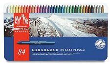 Caran D'ACHE neocolor ii watersoluble 84 couleur étain