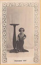 RPPC Princess Tiny circus midget 19yo 15 pounds 8825