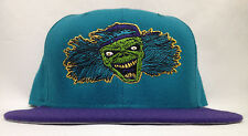 Detroit Deadstock Blockhead Teal Purple Snapback Hat Cap Flatbush Zombies New Er
