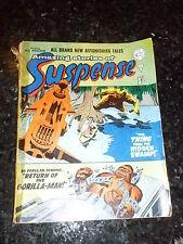 AMAZING STORIES OF SUSPENSE Comic - No 25 - Alan Class Comics