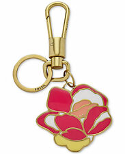NWT Fossil Flower Bag Charm / Key Fob - Pink Multi