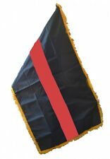 Thin Red Line 3' x 5' Indoor / Parade Flag   *FREE SHIPPING*