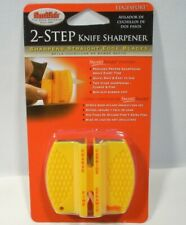Smiths Edgesport 2-step Knife Sharpener Ceramic Carbide Hunting Fishing