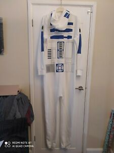 Star Wars R2D2 One Piece Suit  LARGE Worn once