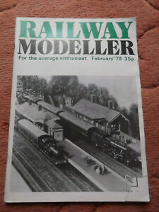 Railway Modeller Magazine February 1978 Used but in good condition for age