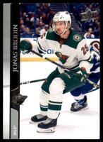 2020-21 UD Series 2 Base #341 Jonas Brodin - Minnesota Wild