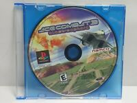 Ace Combat 3 Electrosphere Sony Playstation 1 PS1 Video Game Disc Only Tested