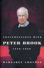 Conversations with Peter Brook 1970-2000, By Croyden, Margaret,in Used but Accep