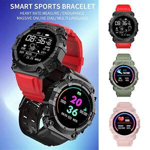 Smart Watch FD68S Bluetooth Heart Rate Blood Pressure Monitor Fitness Tracker UK