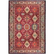 Ruggable Washable Noor Ruby 5' x 7' Stain Resistant Accent Rug
