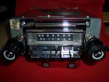 Vintage LEAR-JET AUTOMATIC RADIO AM/FM 8 Track CAR STEREO RADIO SERVICED WORKING
