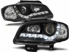 SEAT IBIZA CORDOBA 1999 2000 2001 2002 HEADLIGHTS LPSE20 DAYLIGHT LED BLACK