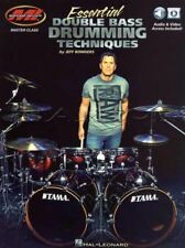 Essential Double Bass Drumming Techniques Sheet Music Book/Audio/Video Method