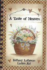 FAIRVIEW HEIGHTS IL 2004 BATHANY LUTHERAN CHURCH COOK BOOK * A TASTE OF HEAVEN
