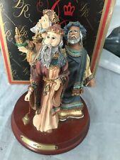 "New ListingDuncan Royale Limited Edition Santa Figurine ""Magi"" w/Orig Box 1990"