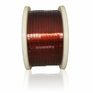 Flat Wire Patent Ø 5-18mm Copper Wire W200 Flat BAR Cu 99.9% Paint Wire Craft