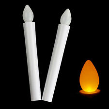 Handsome Battery Candles Newly Light Flickering Long Flameless Tealights LED New