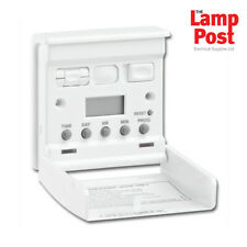 Greenbrook T40S-C 7 Day Electronic Programmable Timer Wall Security Light Switch