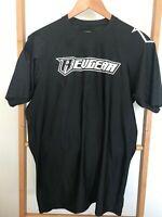 Revgear Black Grappling Rashguard short sleeves  (size XL)