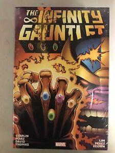 Infinity Gauntlet Omnibus DM Variant Starlin Pérez Marvel New 2020 Reprint