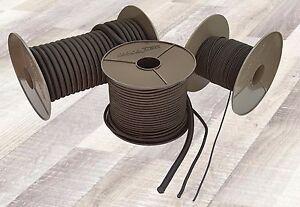 Expanderseil Gummiseil Gummileine Planenseil Seil Plane in Schwarz 2mm - 12mm
