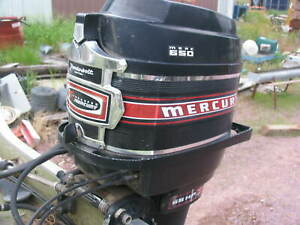 KIEKHAEFER MERC MERCURY 65hp 4 CYLINDER 2 STROKE OUTBOARD MOTOR