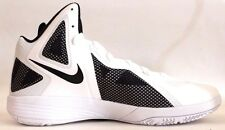 Nike Zoom Hyperfuse 2011 Tb Mens Basketball Shoes White Black 454146 100