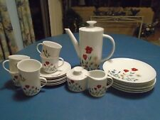 Winterling Tea or Coffee Set of 23 Pcs. Mint and Beautiful