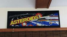 1979 ATARI ASTEROIDS Arcade Machine MARQUEE Brand new SCREEN PRINTED