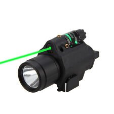 650nm Red /532nm Green Dot Laser sight Combo w/ CREE LED Flashlight Light torch