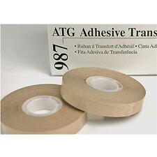 6 rolls 3M 987 atg tape 1/2 x 60 craft ADHESIVE TRANSFER