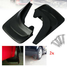 "2pcs 12.6""x8.4"" Plastic Car Front&Rear Mudflaps Splash Guards Fender w/4x Screws"
