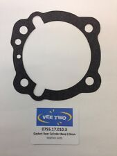 Ducati Bevel Rear Cylinder Base Gasket (0.3mm thick)