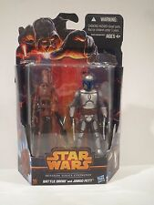 NEW--Star Wars JANGO FETT & BATTLE DROID Mission Series MS 03 hasbro 2013