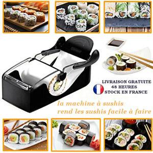 Machine à Sushi Kit Maki Maison Professionnel Appareil Ustensile Rouler NEUF