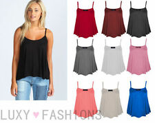Women's Casual Viscose Vest Top, Strappy, Cami Tops & Shirts ,no Multipack