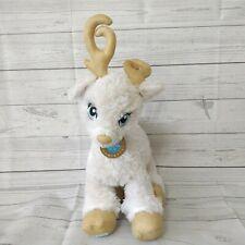 Build A Bear Reindeer Glisten White Gold Flecks Sparkling Antlers Hooves