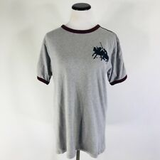 Polo Ralph Lauren Mens Crew Neck T-Shirt Embroidered Big Pony S/S Ringer Size XL