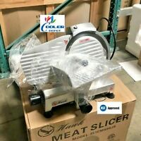 "NEW 9"" Commercial Electric Meat Deli Slicer Model NSF ETL Certified 110V"