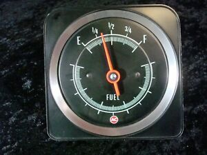 1969 Camaro RS SS Z28 Dash Fuel Gas Gauge GM I bought new, never used
