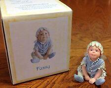 "Nib Boyds ""Fussy"" Faeriessence Faerietots Figurine Baby Fairy New"