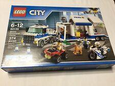 LEGO City Police Mobile Command Center 60139 Building Kit NIB