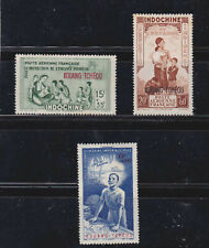 fr.p.office in kouang-tcheou,two sets,MH,toned lightly    q1824