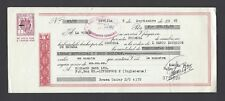 Spain - A cheque in British Pounds , drawn by Banco Exterior de Espana 9-9-1965