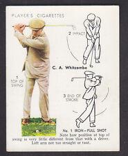 John Player - Golf 1939 (Overseas) - # 24 No. 1 Iron Shot - Full Shot