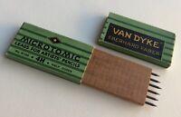Vintage Eberhard Faber Van Dyke Microtomic 4H 2mm Mechanical Artist Pencil Lead